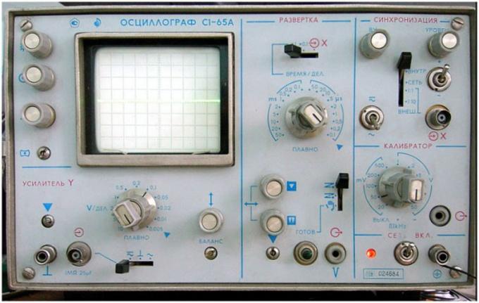 Oscilloscope.