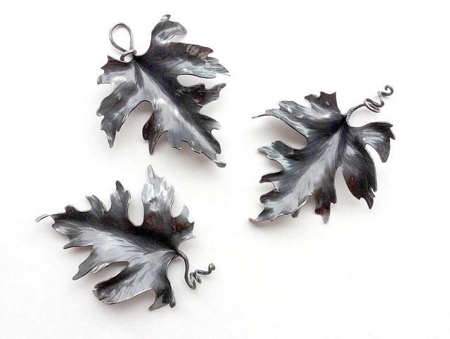 Итальянская ковка: листья клена