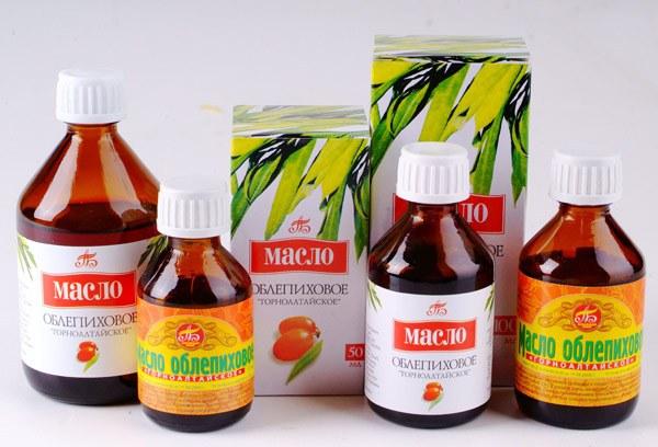 Лечение эрозии шейки матки с помощью облепихового масла