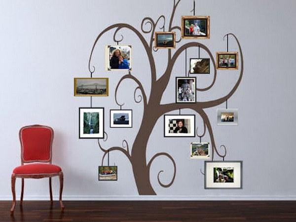Самодельное родословное дерево