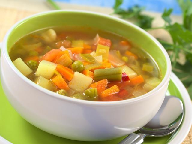 Легкие овощные супы - вкусные диетические блюда