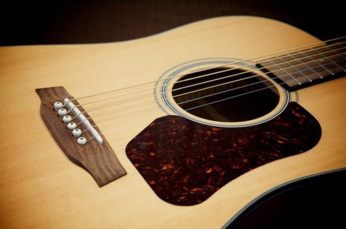 История музыкальных инструментов: гитара