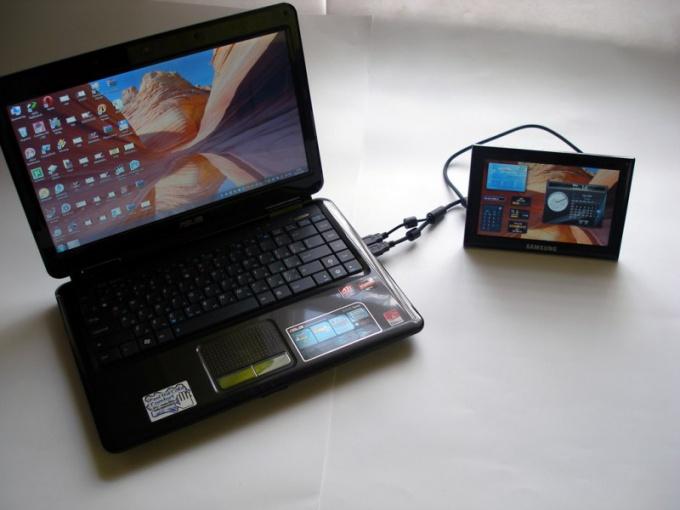 Как подсоединить планшетник к ноутбуку