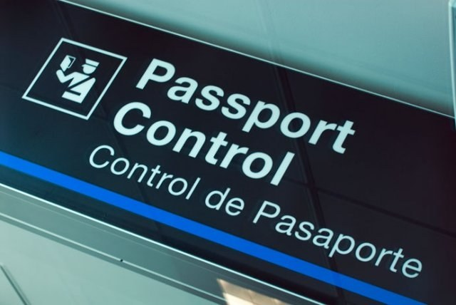 How are the passport control at the airport