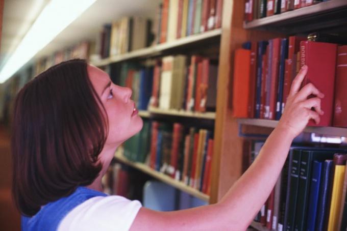 Библиотекарь - древняя профессия