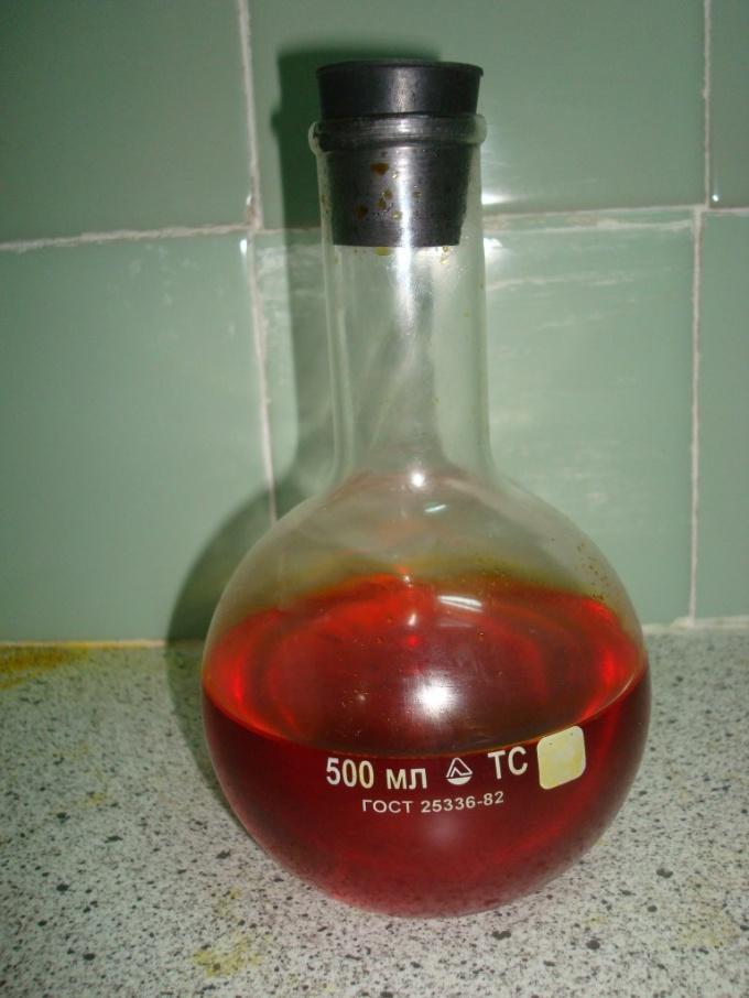 Раствор хромовой кислоты