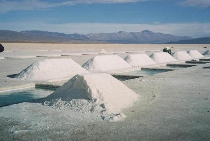 Аргентинский солончак - одно из природных месторождений карбоната калия