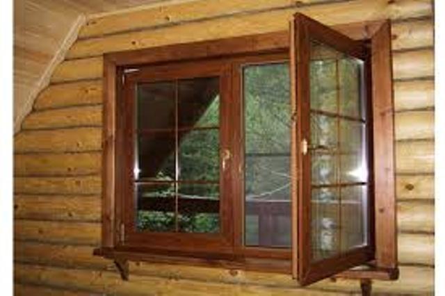 Установка окон в деревянном доме своими руками