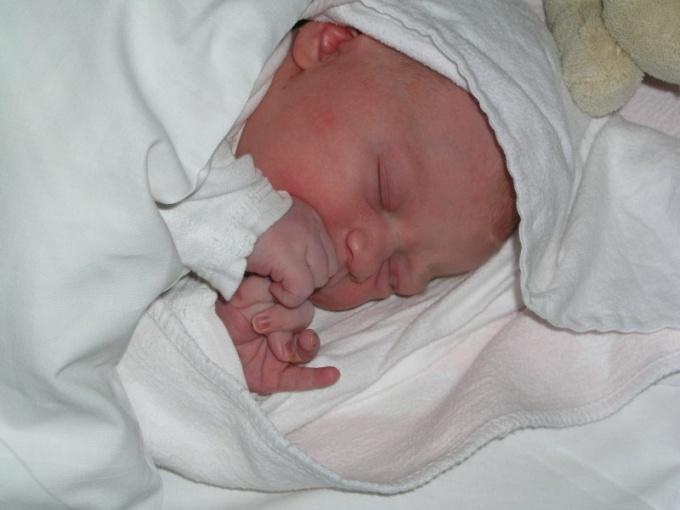 Цветение у новорожденных