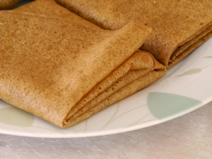 Рисовые блины - полезное лакомство