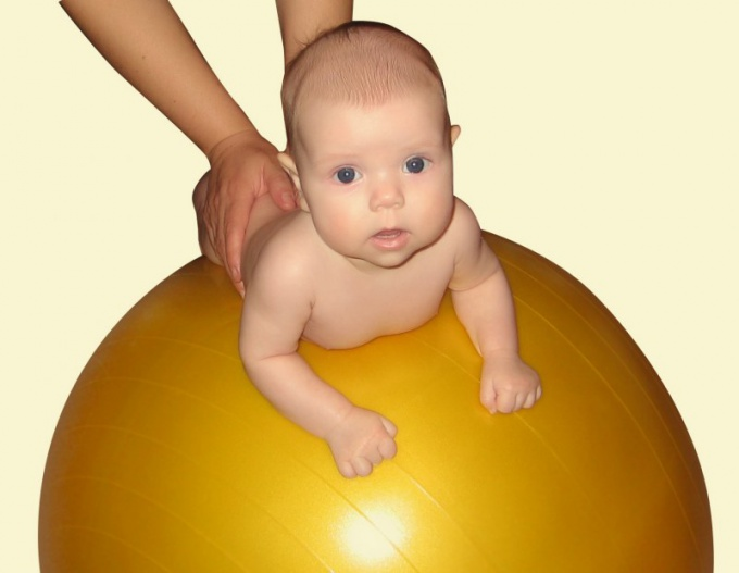 Мяч для новорожденных: спорт с первых дней жизни