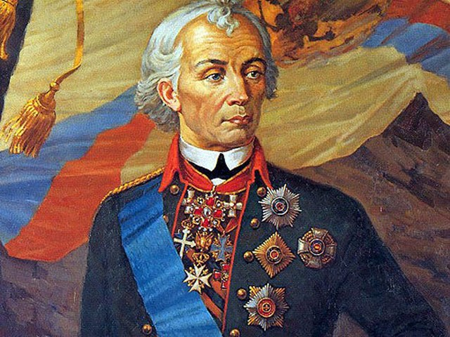 Where he is buried Alexander Vasilyevich Suvorov