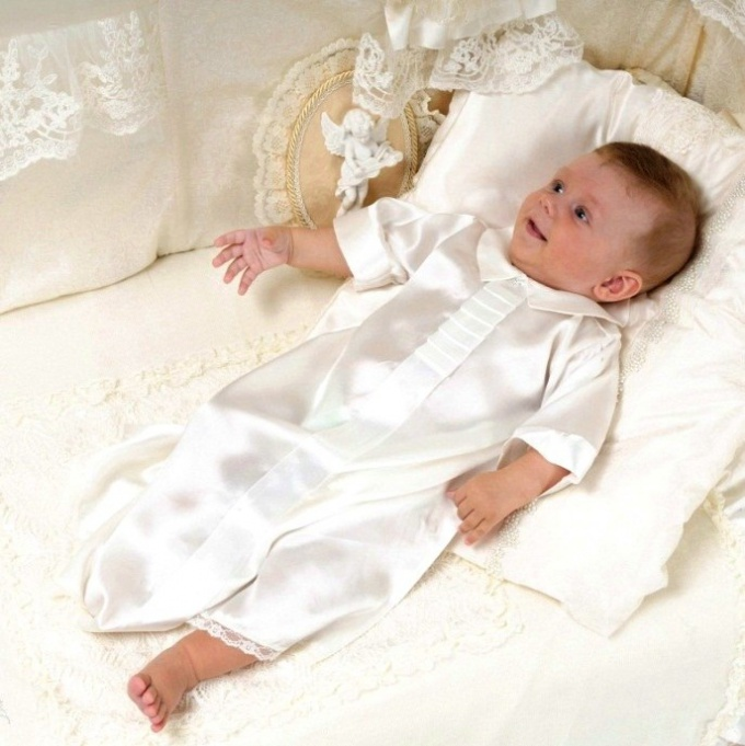 What should be the baptismal shirt for boy