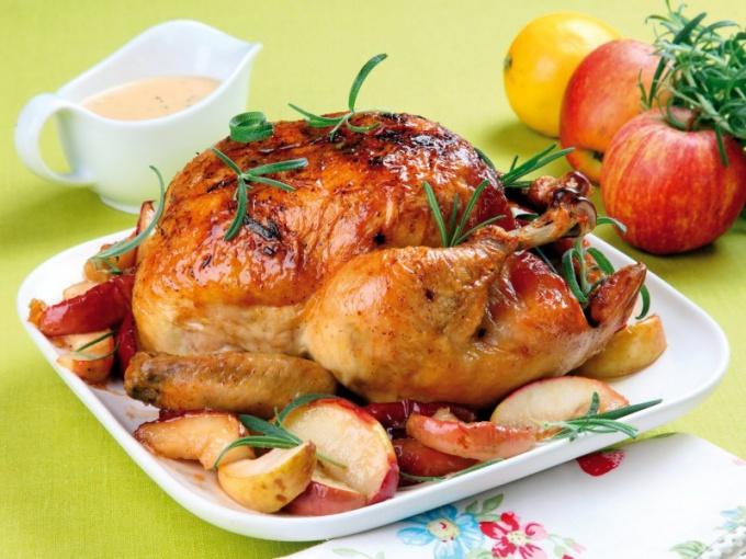 Как запечь курицу в микроволновке