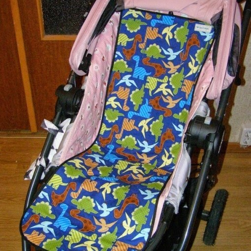 How to sew the mattress for the pram