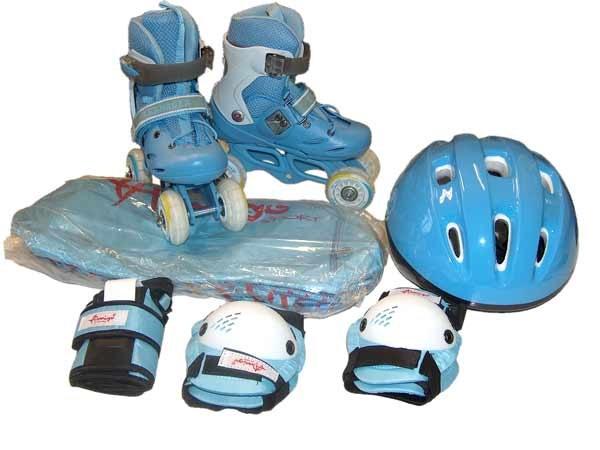 Наколенники для детей - залог безопасной езды на роликах