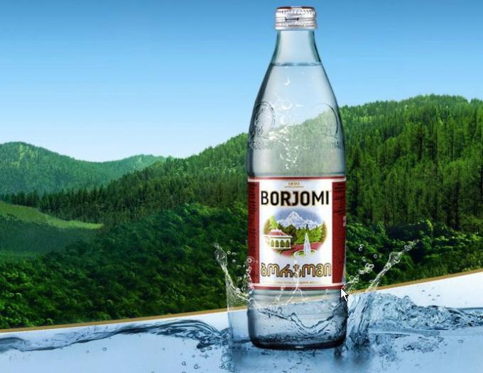 Минеральная вода «Боржоми» с успехом применяется в нетрадиционной медицине