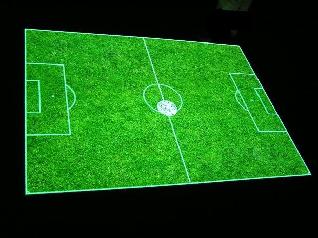 Как приготовить торт в форме футбольного поля