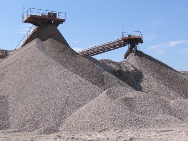 Gravel-sand mixture