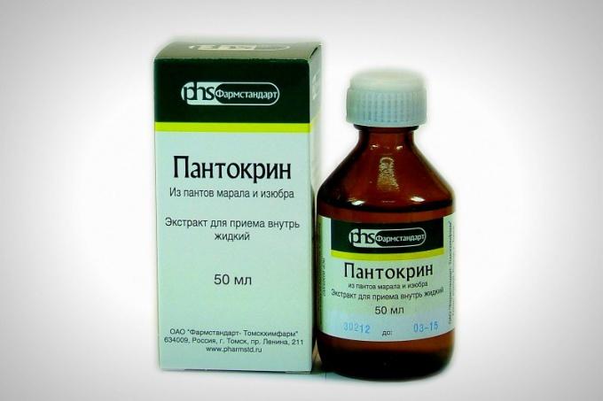«Пантокрин» – самый популярный препарат, изготавливаемый из пантов маралов