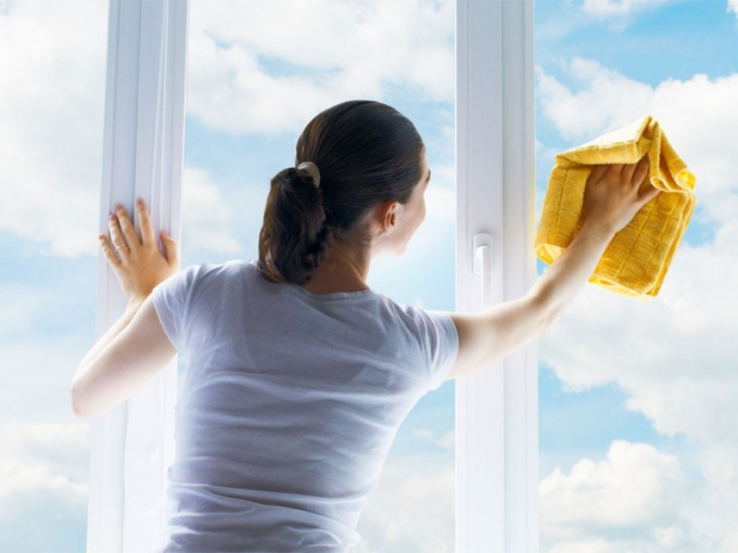 Than to wash the plastic window to avoid divorce