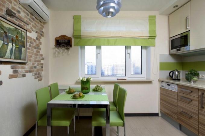 Дизайн окна на кухне: интересные идеи