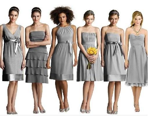 Варианты причесок к коротким платьям