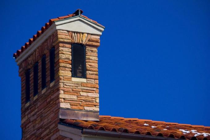 Под тупым углом могут располагаться скаты крыши