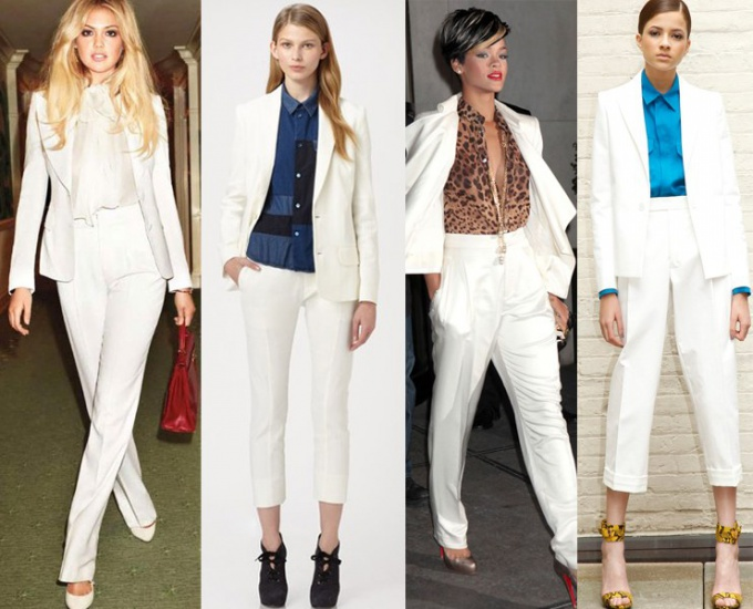 What color shirt will suit to a white suit