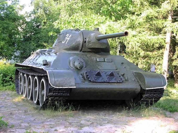 Т-34 - лучший танк второй мировой войны