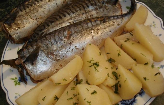 Картошка с рыбой в мультиварке на пару рецепты