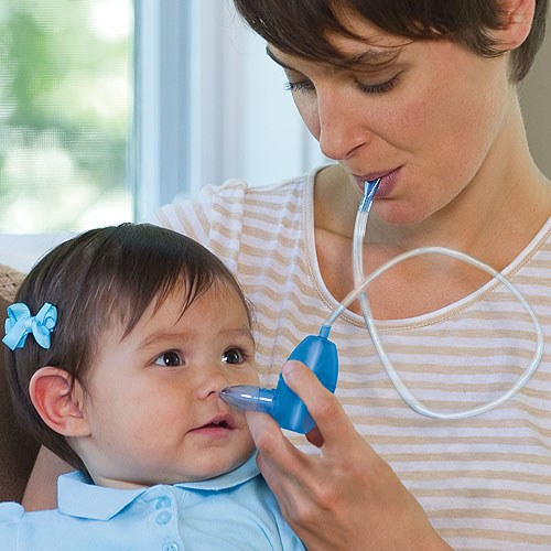 How to use aspirator for baby