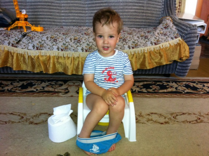 How to potty train a child in 1, 5 years