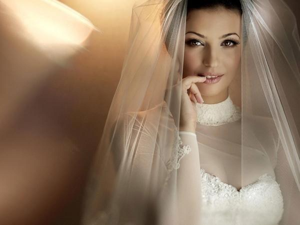 Свадебная фата: зачем она нужна