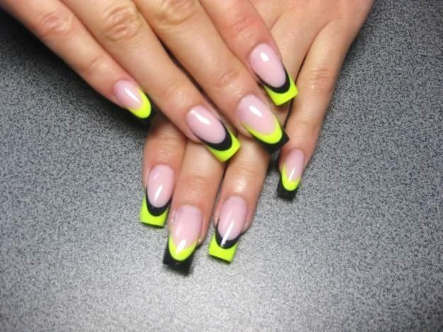 What forms are there in the newly developed nails