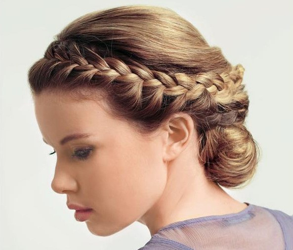 Braid for medium hair