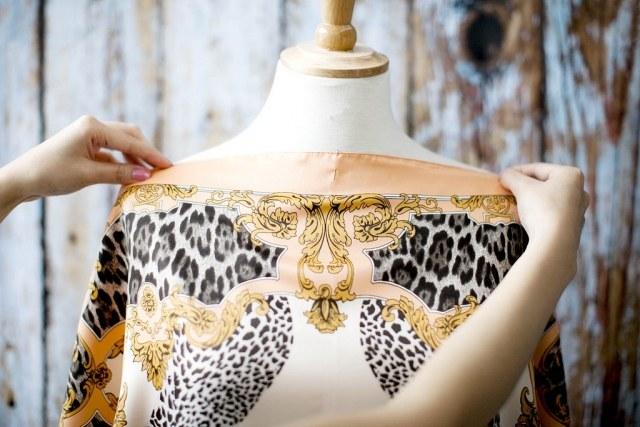 Платья из платков своими руками – стильно и оригинально