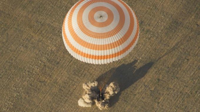 Как устроен парашют