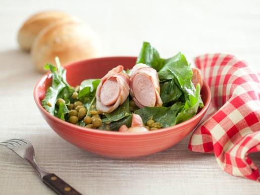 Как приготовить легкий салат из щавеля