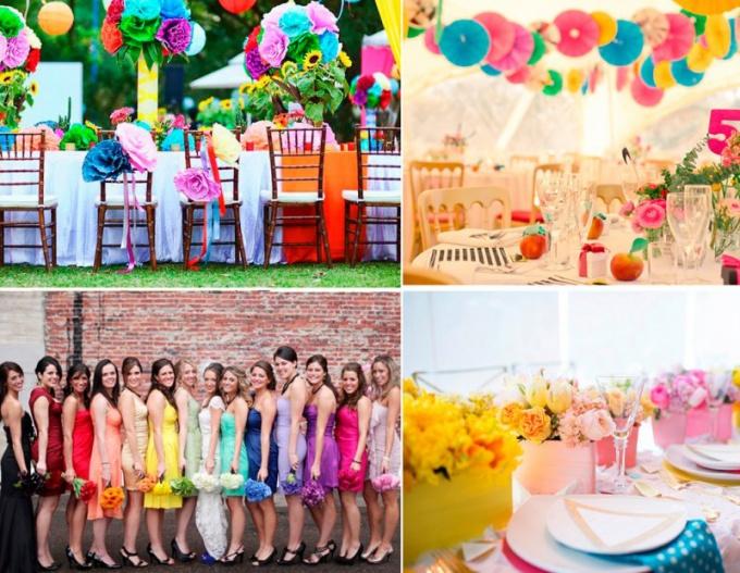 «Светлая свадьба» - все цвета радуги для вашего праздника
