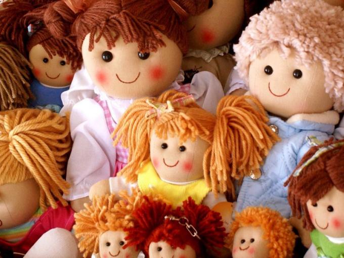 Из чего можно сделать волосы кукле