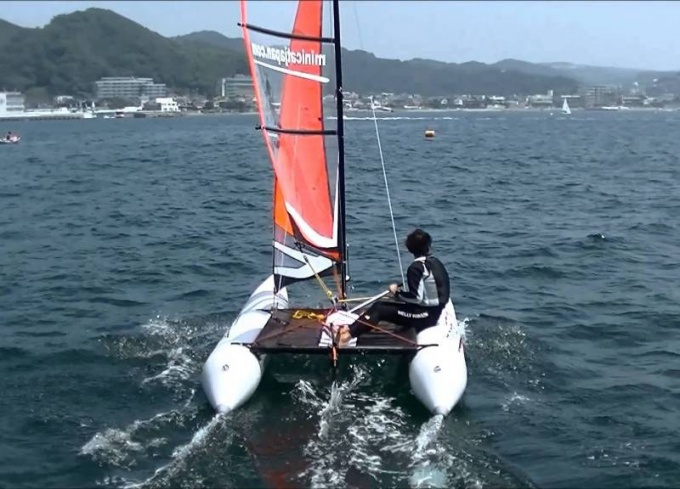 How to make a catamaran with his own hands