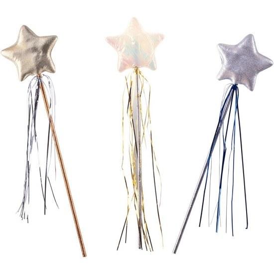 Как сделать детскую палочку феи из новогоднего дождика