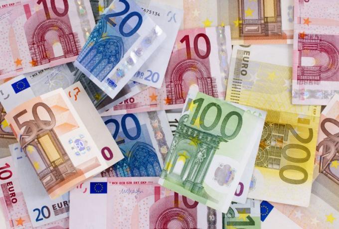 Какие существуют номиналы купюр евро