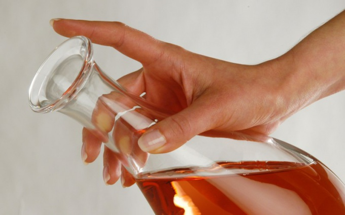 Walnut liqueur - viscous drink with a rich taste
