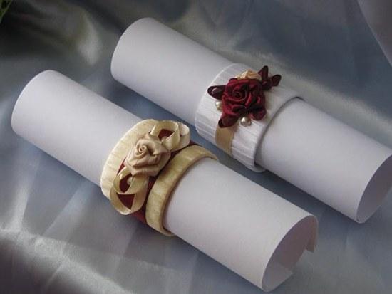 Новогодние кольца для салфеток своими руками фото