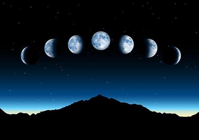 Что заслоняет луну, заставляя ее становиться месяцем
