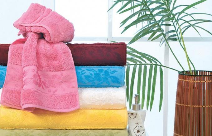 Использование старых полотенец
