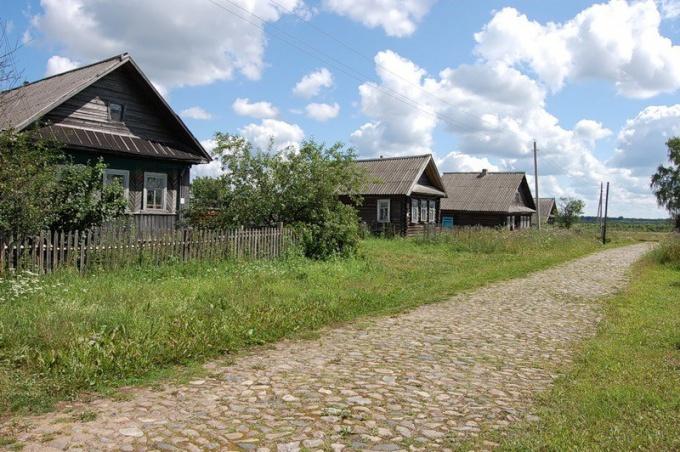 Жизнь в деревне: отдых и красота или работа и усталость
