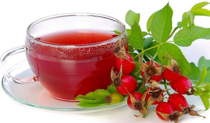 How to brew rose hips
